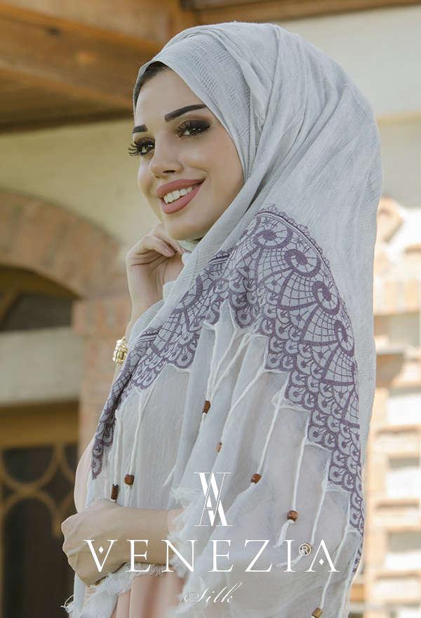SURA İPEK - SURA İPEK Anadolu Koleksiyonu Cotton Şal 31314-020 (1)