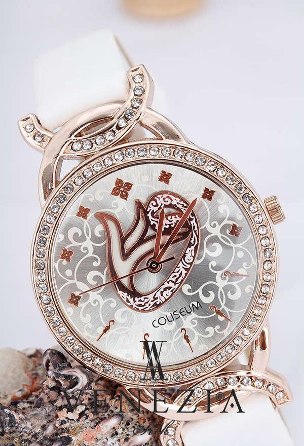 VENEZİA SAAT - Venezia Deri Kordonlu Bayan Saat BS885 (1)