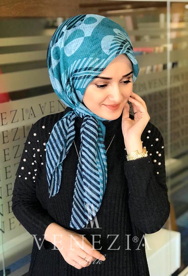 Akel Desenli 1.10*1.10 Şaleşarp 35285-001