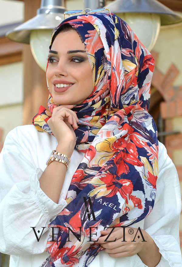 3 Şal 100 TL - Akel Festival Desen Cotton Şal 36205-001 (1)
