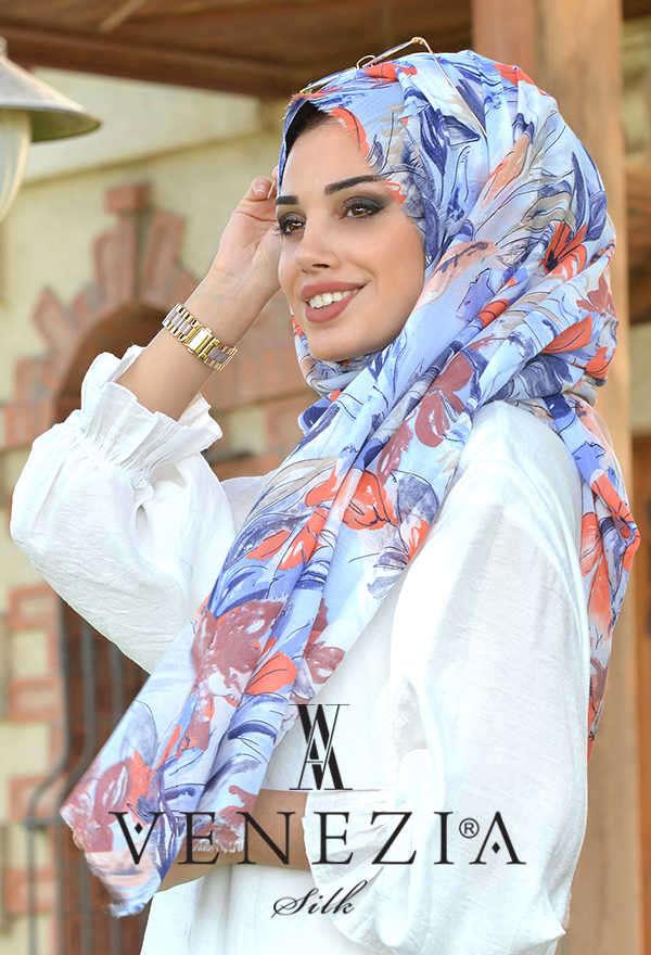 3 Şal 100 TL - Akel Festival Desen Cotton Şal 36205-004 (1)