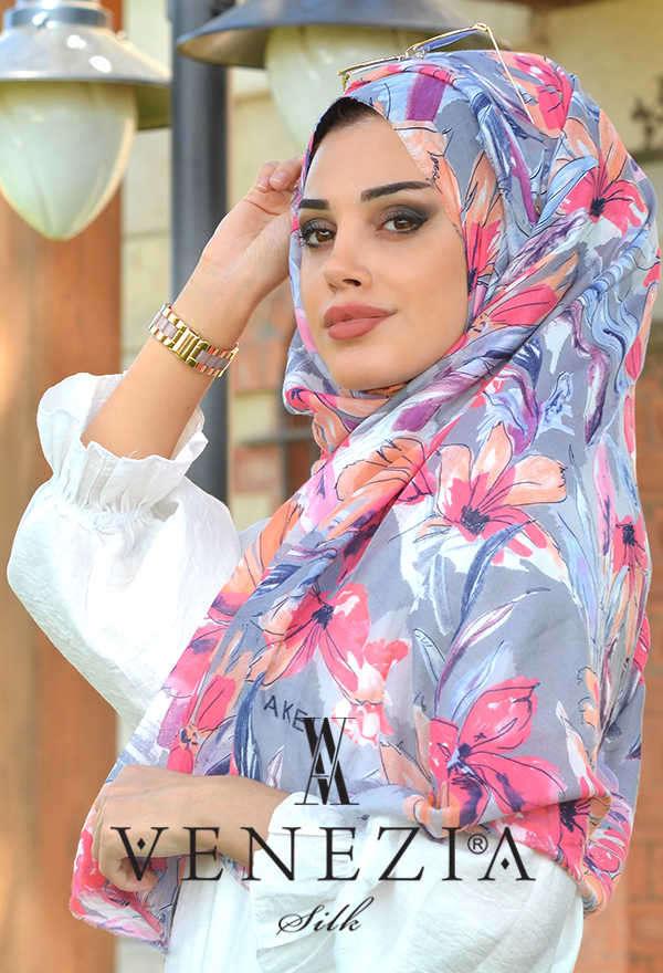 3 Şal 100 TL - Akel Festival Desen Cotton Şal 36205-010 (1)