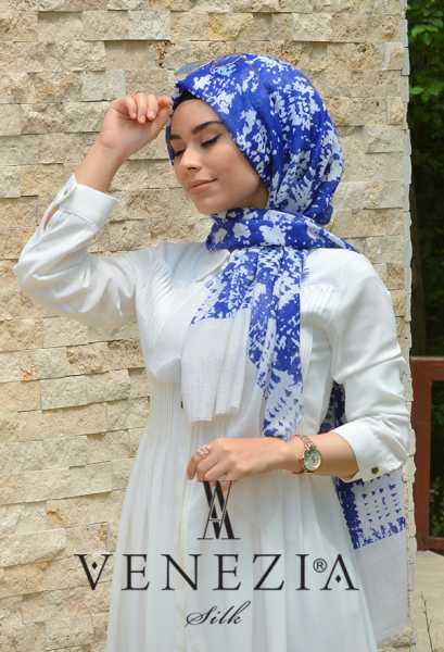 AKEL - Akel Gölge Desen Cotton Şal 35217-002 (1)