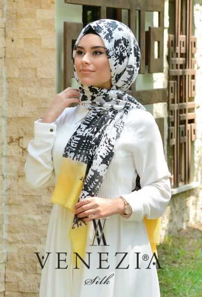 AKEL - Akel Gölge Desen Cotton Şal 35217-006 (1)