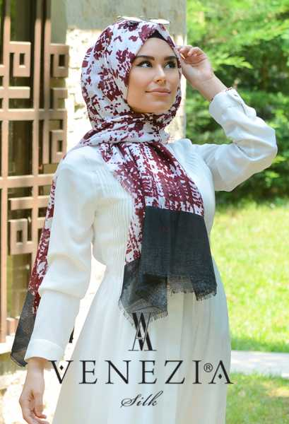 AKEL - Akel Gölge Desen Cotton Şal 35217-010 (1)
