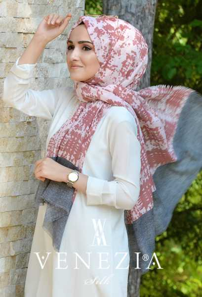 AKEL - Akel Gölge Desen Cotton Şal 35217-001 (1)