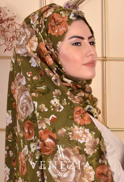 3 Şal 100 TL - Akel Gonca Desen Cotton Şal 35238-001 (1)