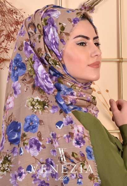 3 Şal 100 TL - Akel Gonca Desen Cotton Şal 35238-006 (1)