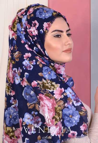 3 Şal 100 TL - Akel Gonca Desen Cotton Şal 35238-012 (1)