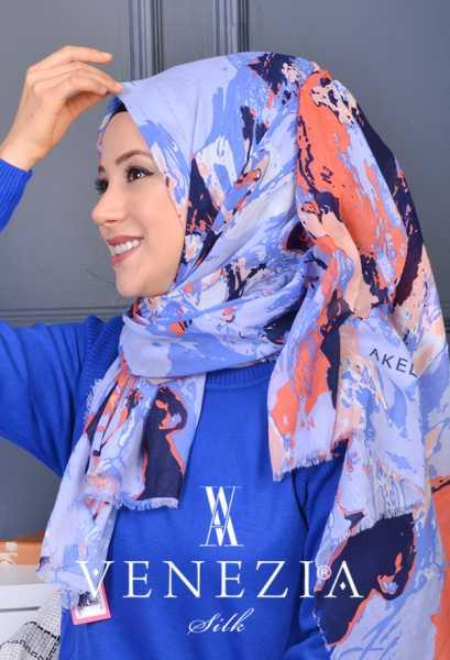 AKEL - Akel Karmaşık Desen Cotton Şal 35160-010 (1)