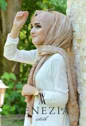 Akel Şal Desen Cotton Şal 35270-005 - Thumbnail