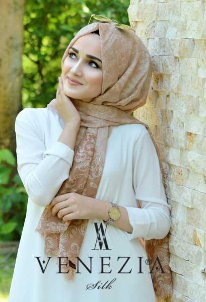 AKEL - Akel Şal Desen Cotton Şal 35270-005 (1)