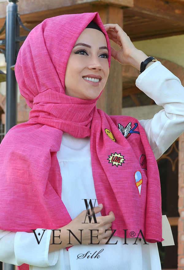 AKEL - Akel Street Style Cotton Şal 31025-006 (1)
