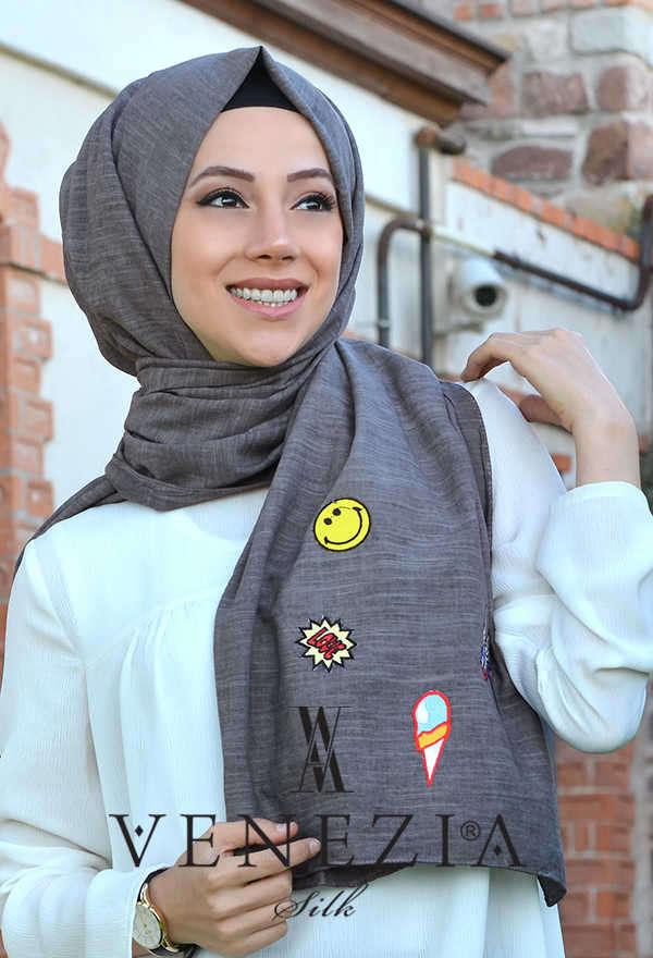 AKEL - Akel Street Style Cotton Şal 31025-008 (1)