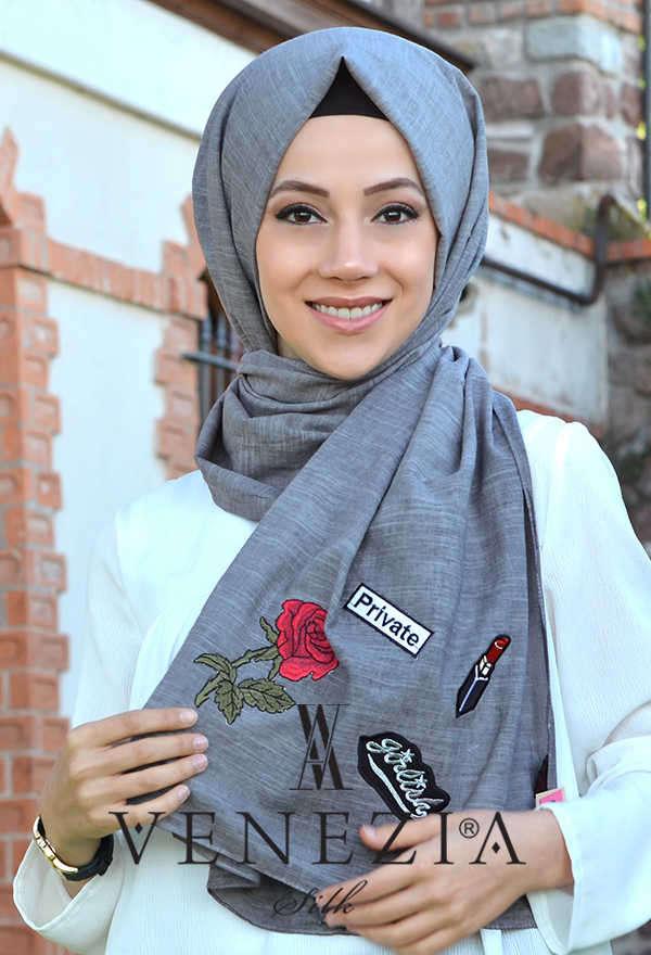 AKEL - Akel Street Style Cotton Şal 31025-016 (1)