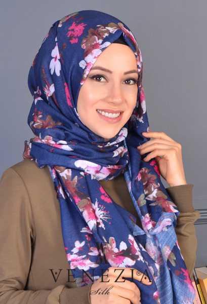 3 Şal 100 TL - Akel Yeni Bahar Cotton Şal 35190-003 (1)