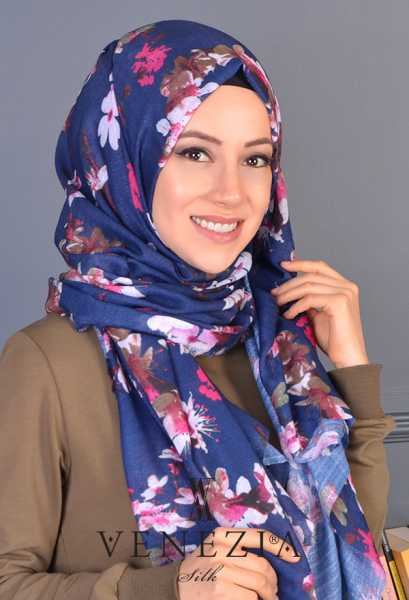 AKEL - Akel Yeni Bahar Cotton Şal 35190-003 (1)