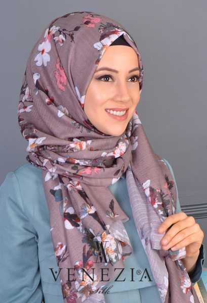 AKEL - Akel Yeni Bahar Cotton Şal 35190-005 (1)