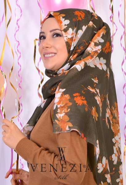 AKEL - Akel Yeni Bahar Cotton Şal 35190-007 (1)