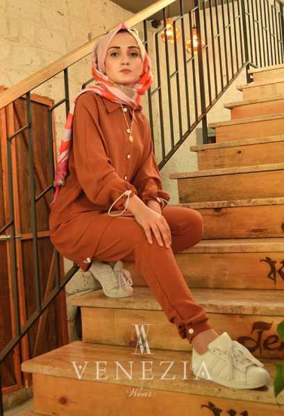 BERAY - Beray Pantolon Tunik Spor Takım 35378-V1 (1)