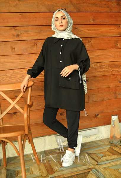 BERAY - Beray Pantolon Tunik Spor Takım 35378-V2 (1)