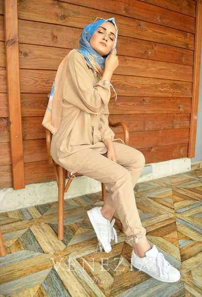 BERAY - Beray Pantolon Tunik Spor Takım 35378-V5 (1)