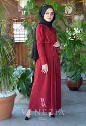 Ebrulim Sandy Kruvaze Elbise 35328-003 - Thumbnail