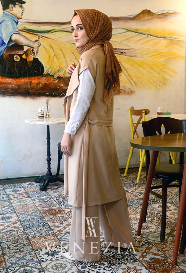 Ebrulim Yelekli Pantolon Takım 35337-003