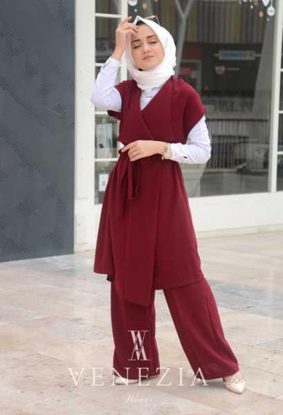 EBRULİM - Ebrulim Yelekli Pantolon Takım 35337-004 (1)