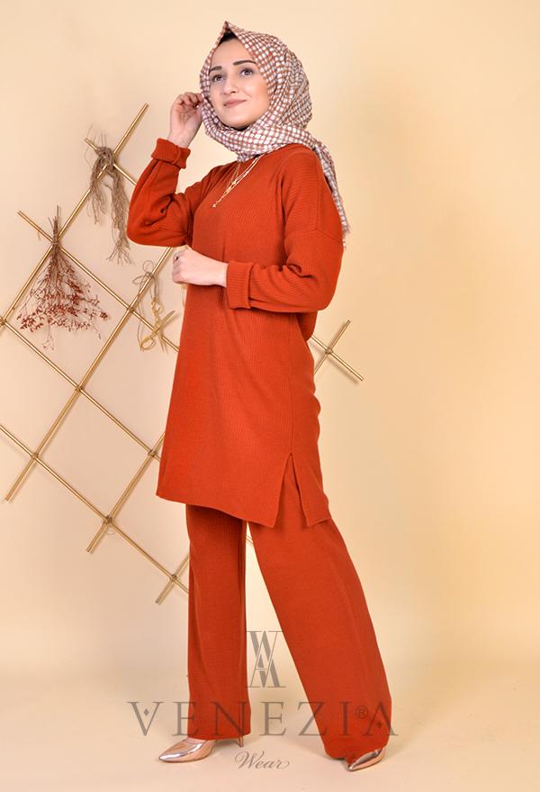 Esra Üstün Koleksiyonu Tunik Pantolon Takımı 35287-001