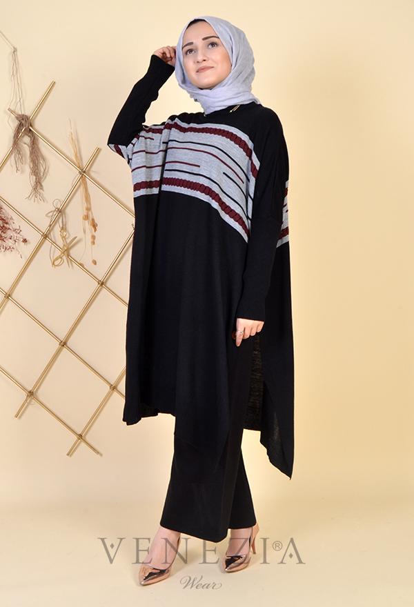 Esra Üstün Koleksiyonu Tunik Pantolon Takımı 35292-001