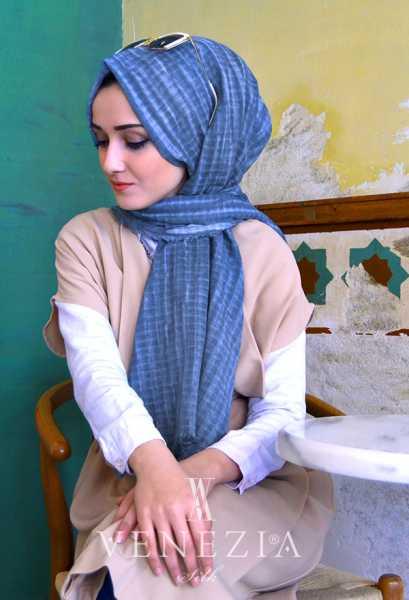 MODAKAŞMİR - Modakaşmir Mira Cotton Şal 35336-002 (1)