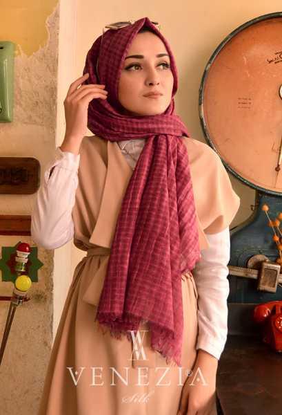 MODAKAŞMİR - Modakaşmir Mira Cotton Şal 35336-007 (1)