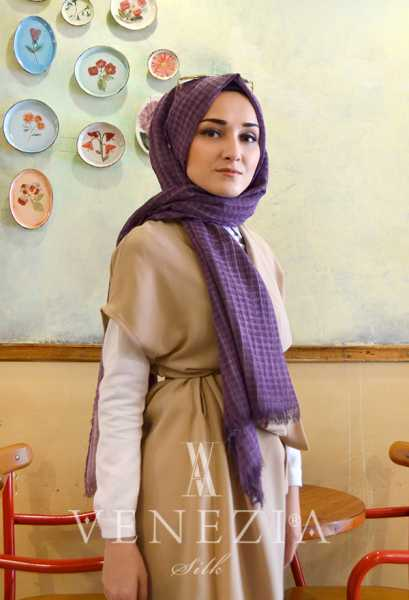MODAKAŞMİR - Modakaşmir Mira Cotton Şal 35336-013 (1)