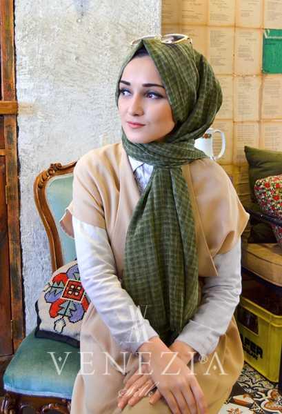 MODAKAŞMİR - Modakaşmir Mira Cotton Şal 35336-018 (1)