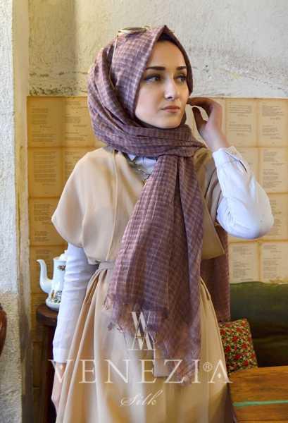 MODAKAŞMİR - Modakaşmir Mira Cotton Şal 35336-019 (1)