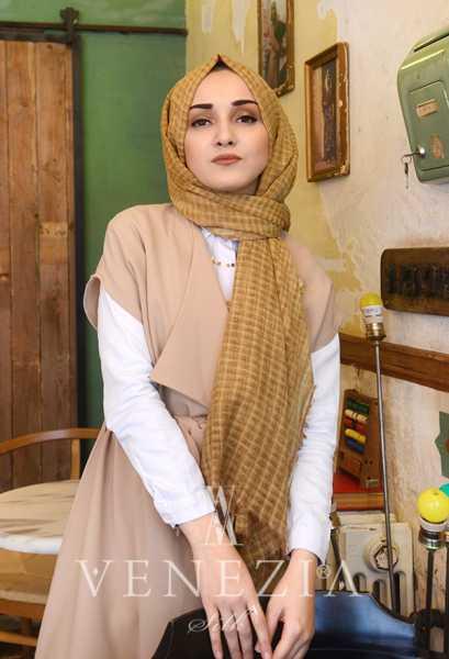 MODAKAŞMİR - Modakaşmir Mira Cotton Şal 35336-023 (1)