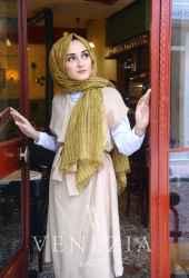 Modakaşmir Mira Cotton Şal 35336-017 - Thumbnail