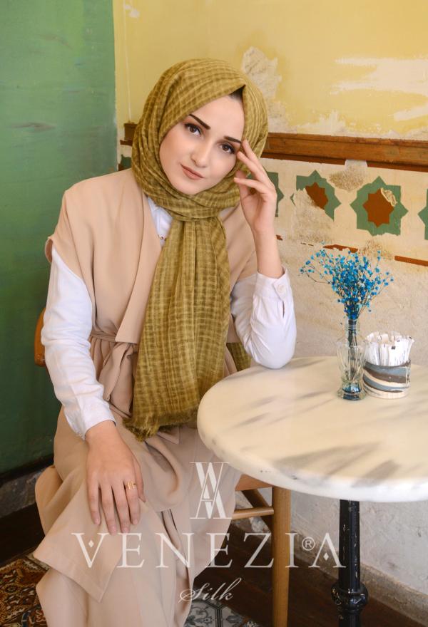 Modakaşmir Mira Cotton Şal 35336-017