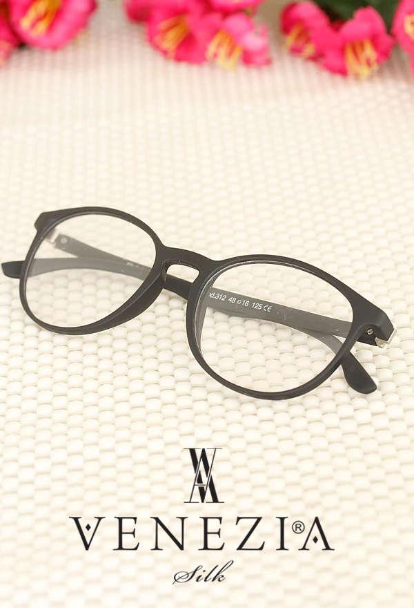 VENEZİA SİLK - Oval Çerçeveli Trend İmaj Gözlük GG437 (1)