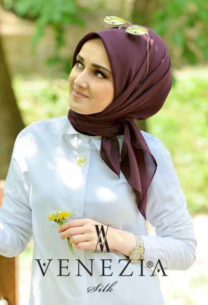 SURA İPEK - Sura Düz Renk Medine İpeği Şaleşarp 35255-014 (1)