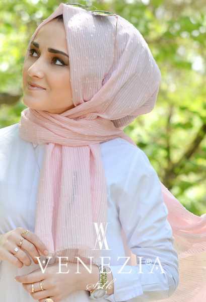 SURA İPEK - Sura Düz Renk Ponponlu Cotton Şal 35254-003 (1)
