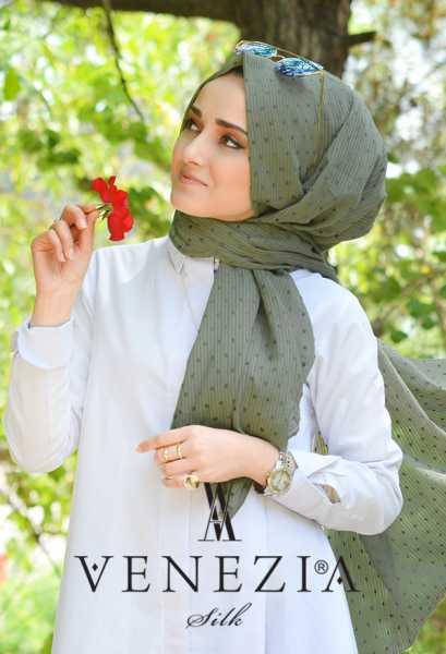 SURA İPEK - Sura Düz Renk Ponponlu Cotton Şal 35254-008 (1)