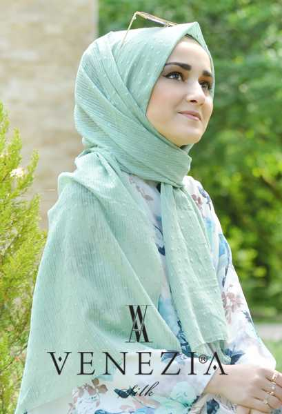 SURA İPEK - Sura Düz Renk Ponponlu Cotton Şal 35254-011 (1)