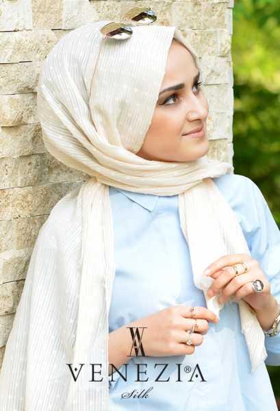 SURA İPEK - Sura Düz Renk Ponponlu Cotton Şal 35254-016 (1)