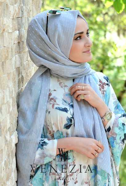 SURA İPEK - Sura Düz Renk Ponponlu Cotton Şal 35254-017 (1)