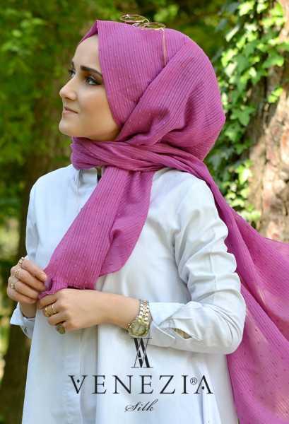 SURA İPEK - Sura Düz Renk Ponponlu Cotton Şal 35254-018 (1)
