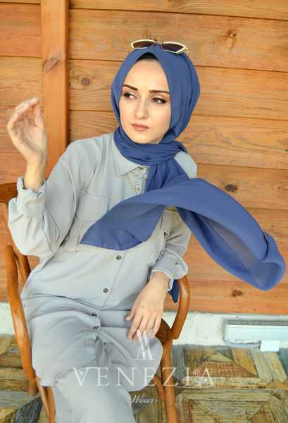 SURA İPEK - SURA Medine İpeği Şal 35368-040 (1)