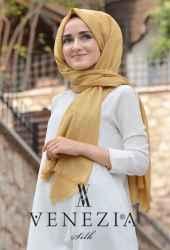 Sura Simli Dokuma Cotton Şal 35279-003 - Thumbnail