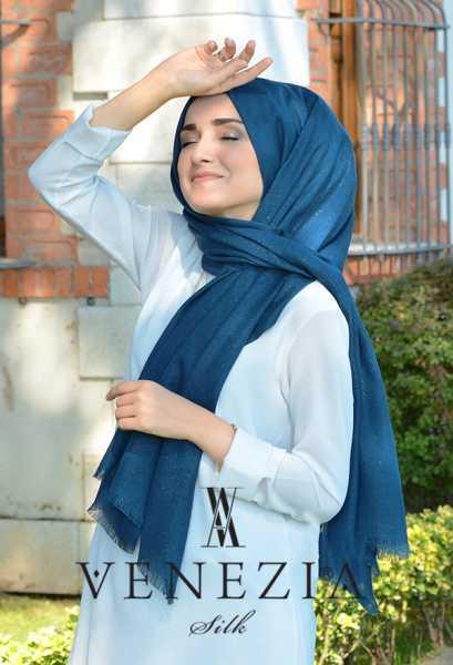 SURA İPEK - Sura Simli Dokuma Cotton Şal 35279-006 (1)
